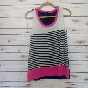 41Hawthorn Striped  Color Block Tank Size Small